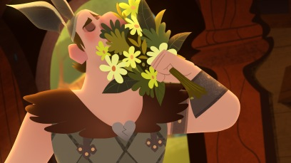"TANGLED: THE SERIES - ""What the Hair?!"" - Rapunzel and Cassandra venture out to a wizard's cottage to try and find out what has happened to her hair. This episode of ""Tangled: The Series"" airs Friday, March 24 (7:30 - 8:00 P.M. EDT) on Disney Channel. (Disney Channel) BIG NOSE"