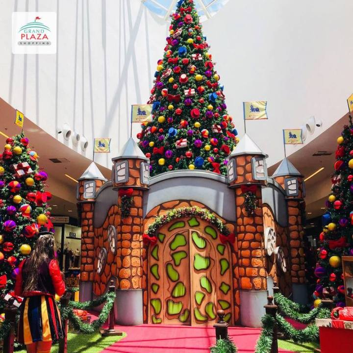 Natal no Grand Plaza Shopping - Castelo Rá Tim Bum