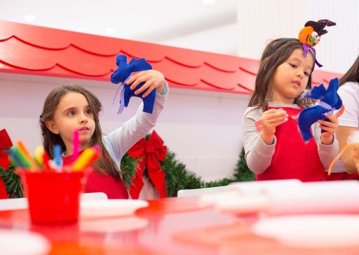 Oficinas de Natal - Customização de Renas 2