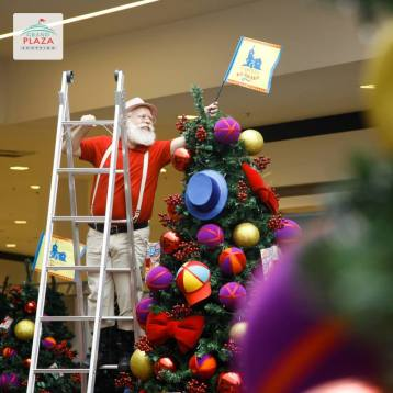Papai Noel no Grand Plaza Shopping