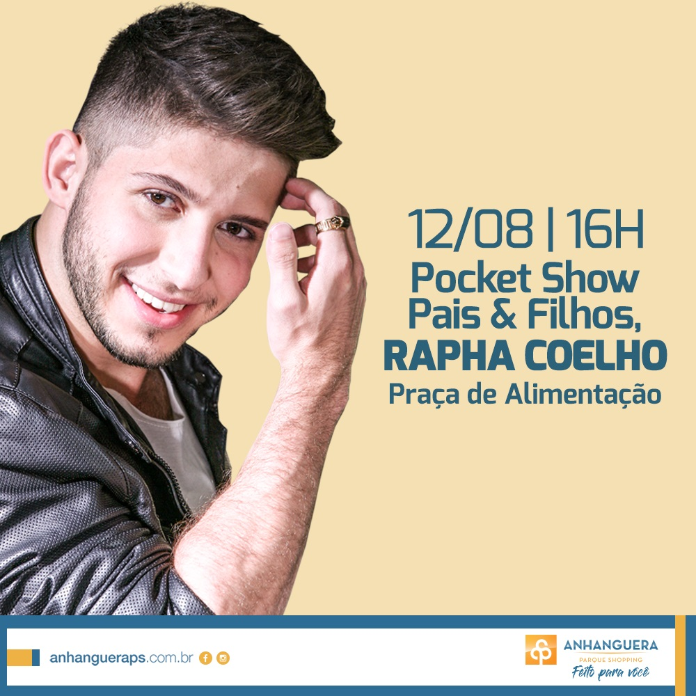 Pocket Show Rapha Coelho
