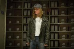 Marvel Studios' CAPTAIN MARVEL..Carol Danvers/Captain Marvel (Brie Larson)..Photo: Chuck Zlotnick..©Marvel Studios 2019