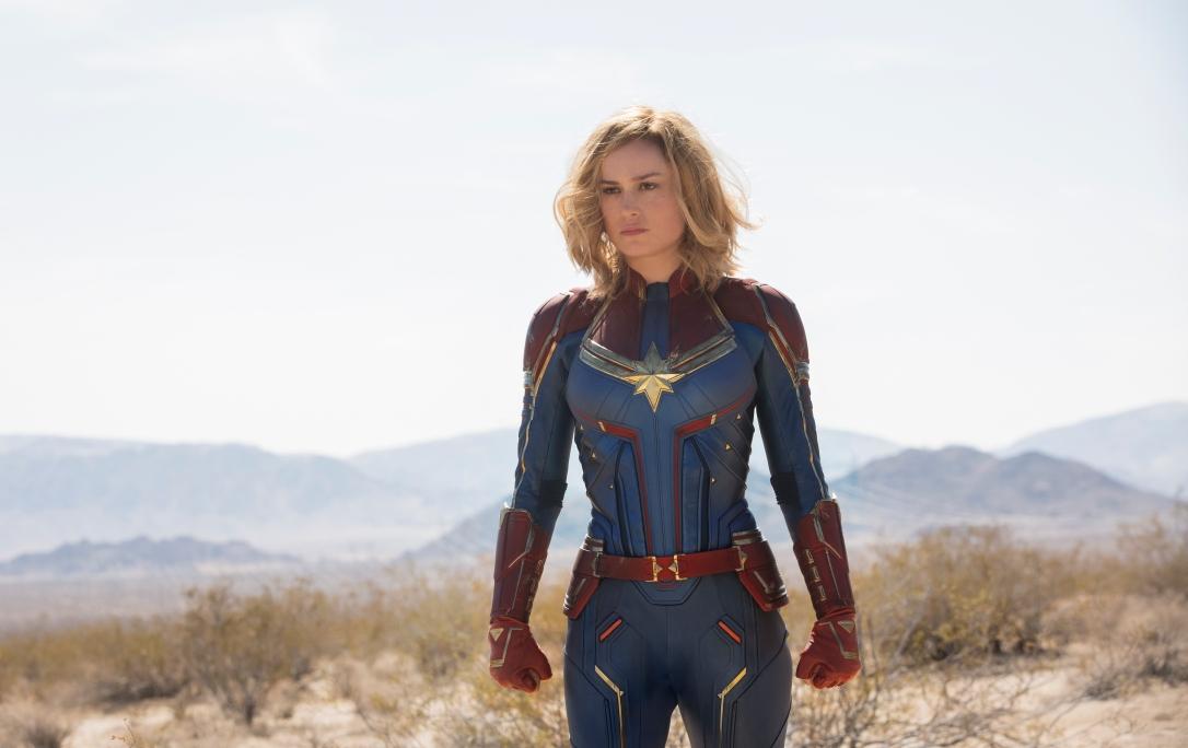Foto atriz capitã marvel