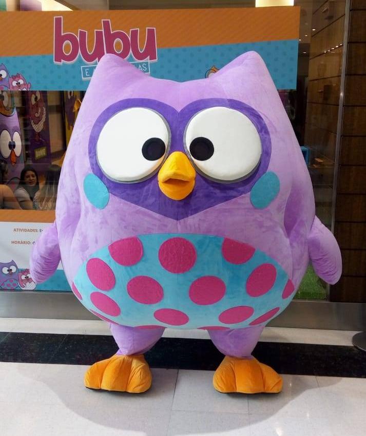 Bubu e as Corujinhas estarão no Espaço Kids do Central Plaza Shopping