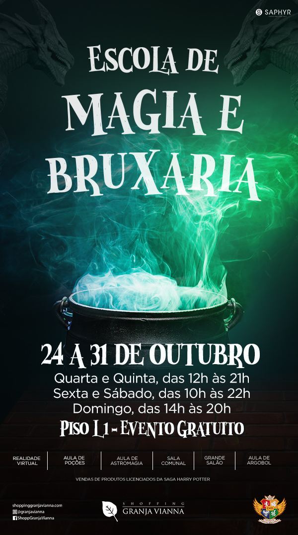Shopping Granja Vianna Escola de Magia e Bruxaria
