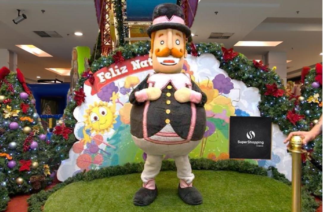 Mundo Bita é tema do Natal do SuperShopping Osasco