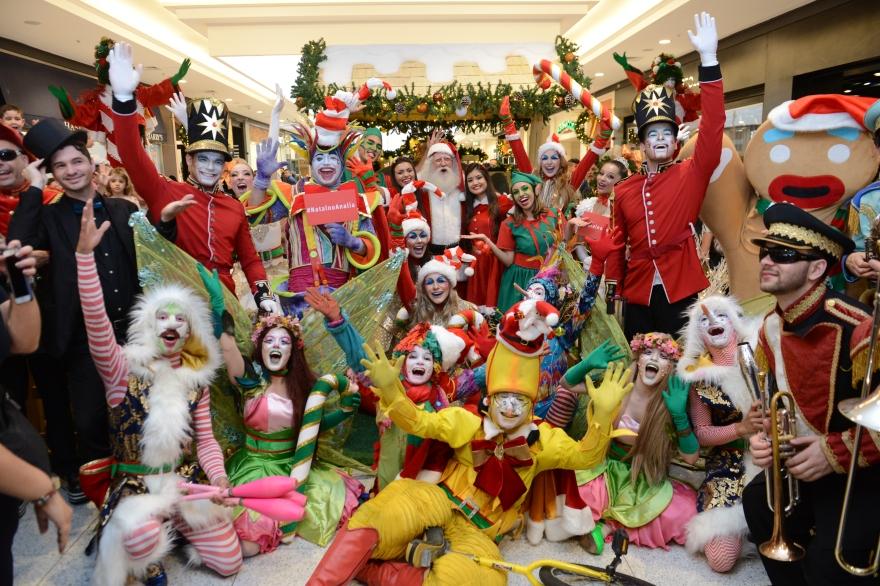 Fabulosa Fábrica de Brinquedos do Noel do Shopping Anália Franco