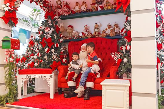 Papai Noel chega neste sábado no Polo Shopping Indaiatuba