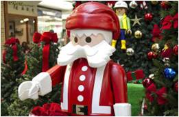 Playmobil de Natal invade o Espaço Kids do Central Plaza Shopping