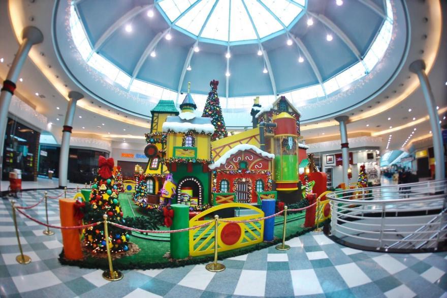 decoração de natal play doh massinha
