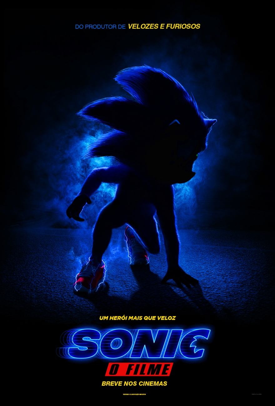 cartaz do filme sonic